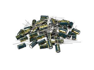 Aluminum Radial Electrolytic Capacitor Low ESR Green 220uF 16V 6.3x11mm 50pcs