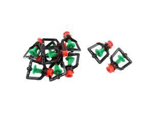 Irrigation Planting Plastic Totating Sparge Tree Watering Nozzle Tricolor 10pcs