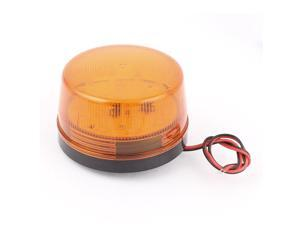 Unique Bargains DC 12V Yellow LED Flash Signal Light Industrial Safety Security Warning Lamp