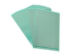 Unique Bargains 12x18cm Single Sided Universal Printed Circuit Board for DIY Soldering 10pcs