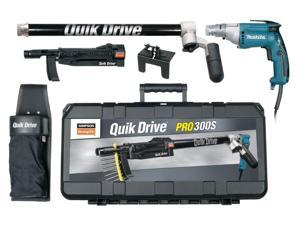 """Quik Drive PRO300SM25K 1-1/2"""" - 3"""" 6823 2500RPM Autofeed Screwgun Kit Makita"""