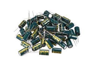 Aluminum Radial Electrolytic Capacitor Low ESR Green 680UF 35V 10x17mm 50pcs