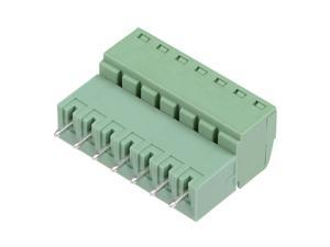 4Pairs 3.81mm Pitch 7Pin Pluggable Terminal Block Connector Male and Female