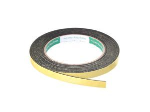 Foam Seal Tape, 10mm Wide 1mm Thick 16.4 Feet Long Adhesive Weather Strip