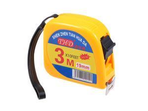 Measuring Tape Retractable 9.8Ft 3 Meters Plastic Case Metric Tape Measure Ruler