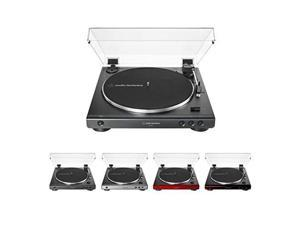 Audio-Technica AtLP60XBW Fully Automatic Belt-Drive Stereo Turntable Brown/Black