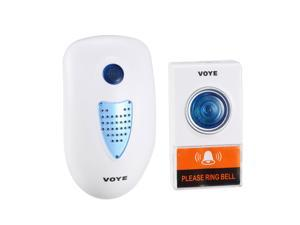 Wireless Doorbell Chime Kit 656ft Operating with LED Light 38 Chimes