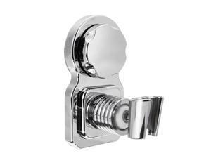Universal Chrome Bathroom Wall Mounted Shower Head Handset Strong Suction Holder Bathroom Part