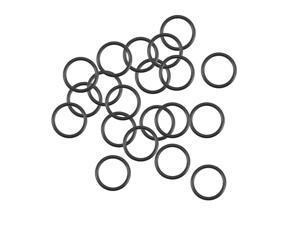 O-Rings Nitrile Rubber 12.8mm Inner Diameter 16.4mm OD 1.8mm Width Round Seal Gasket 20Pcs