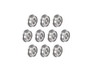 F694ZZ Flange Ball Bearing 4x11x4mm Shielded Chrome Bearings 10pcs