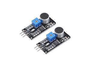 Microphone Sound Sensor Voice Detection Module for Arduino Smart Car 2pcs