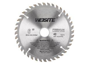 "6"" Circular Saw Blade, 40T 7/8"" Arbor, Wood TCT Carbide Tipped Slitting Saw"
