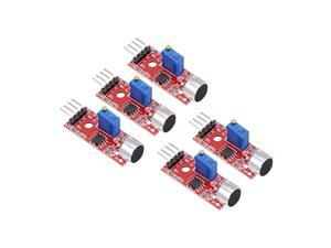 Sound Microphone Sensor Detection Module with DO AO for Arduino UNO R3 AVR PIC 5pcs