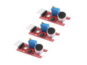 Sound Microphone Sensor Detection Module with DO AO for Arduino UNO R3 AVR PIC 3pcs