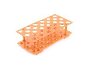Removable Laboratory 15ML Centrifuge Test Tubes Holder Rack Organizer Orange