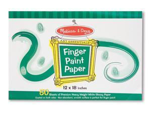 Melissa & Doug 4106 Finger Paint Paper Pad- 12 in.x18 in.