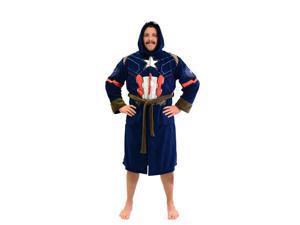 Marvel Universe Captain America Civil War Mens Fleece Costume Robe 845f42ea8