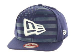 f543f8f9c7ca9 New Era USA Branded Flag Front 9FIFTY Original Fit Snapback Cap