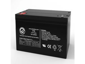 Eaton Powerware PWHR12280W4FR 12V 75Ah UPS Battery - This is an AJC Brand Replacement