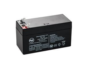 Panasonic LC-R121R3P 12V 1.3Ah Sealed Lead Acid Battery - This is an AJC Brand Replacement