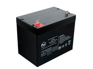 C&D Dynasty MSP1275 12V 75Ah Sealed Lead Acid Battery - This is an AJC Brand Replacement