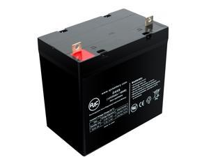 Golden Technologies Technology Alante MK 8G22NF 12V 55Ah Wheelchair Battery - This is an AJC Brand Replacement