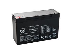 Yard Machines 46 6V 10Ah Lawn and Garden Battery - This is an AJC Brand Replacement