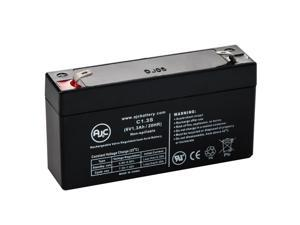 Gilson 16 6V 1.3Ah Lawn and Garden Battery - This is an AJC Brand Replacement