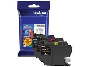 Brother LC30173PK High Yield Ink Cartridge - Combo Pack - Cyan/Magenta/Yellow