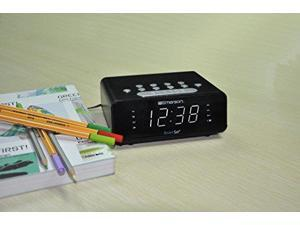 Emerson SmartSet ER100101 Desktop Clock Radio - AM, FM