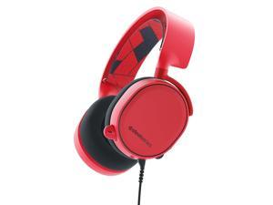 SteelSeries 61435 Arctis 3 Solar Red Gaming Headset