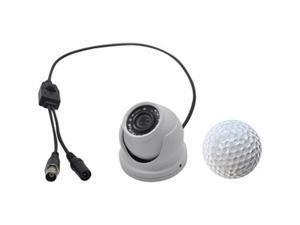 KJM KJM-C55 Mini HD Dome Camera 1000TVL White
