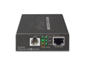 Planet VC-231G 1-Port 10/100/1000T Ethernet to VDSL2 Converter/Bridge 30a profile w/ G.vectoring, RJ11