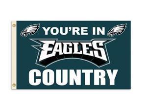 Fremont Die Inc Philadelphia Eagles Flag With Grommetts Flags
