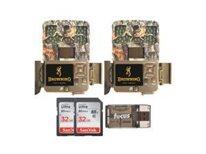 Browning Trail Cameras 20MP Recon Force Edge Trail Camera (2-Pack) Bundle