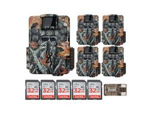 Browning Trail Cameras Strike Force Pro XD Dual Lens 24MP Game Cam 5-Pack Bundle