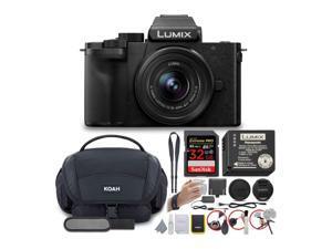 Panasonic LUMIX G100 4K Mirrorless Vlogging Camera with 12-32mm Lens Bundle