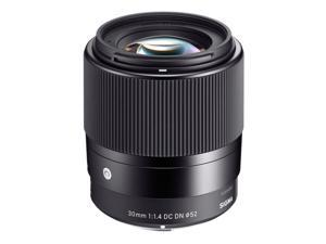 Sigma 30mm f/1.4 DC DN Contemporary Lens for Sony E-Mount