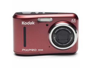 Kodak PixPro Friendly Zoom FZ43 Digital Camera, Red #FZ43-RD