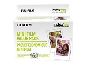 FUJIFILM - FILM 600016111 INSTAX MINI FILM VALUE PK 60CT