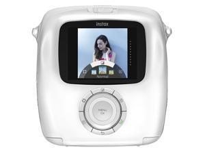 Fujifilm Instax Square SQ10 Hybrid Instant Camera - White