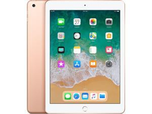 """Apple iPad 2018 9.7"""" Tablet (6th Generation, 128GB, Wi-Fi Only, Gold)"""
