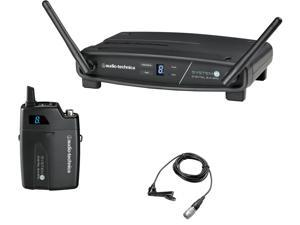 Audio-Technica ATW-1101/L System 10 Stack-Mount Digital Wireless Lavalier System