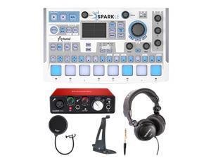 Arturia SparkLE Controller and Focusrite Scarlett Solo USB Interface Bundle