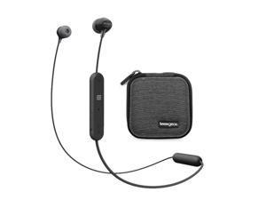 Sony WI-C310 Wireless in-Ear Headphones, Black  (WIC310/B) bundle