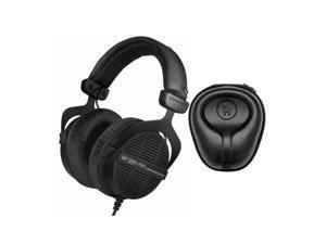 Beyerdynamic DT 990 PRO Studio Headphones (Ninja Black, Limited Edition) Bundle