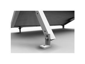 Renogy Adjustable Solar Panel Tilt Mount Brackets support up to 150 Watt Solar Panel for Roof, RV, Boat and Any Flat Surface, for on-grid/off-grid systems (Mount Only)