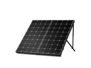 Renogy 200 Watt 12 Volt Eclipse Monocrystalline Off Grid Portable Foldable Solar Panel Suitcase w/o Controller