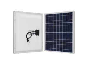 Renogy 50 Watt 12 Volt Polycrystalline Solar Panel Off Grid PV Power for Battery Charging, Boat, 50 Watts, Caravan, RV Applications