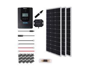 Renogy New 300 Watt 12 Volt Solar Premium Kit (300W Mono solar panel  with Rover 40A MPPT Charge Controller)